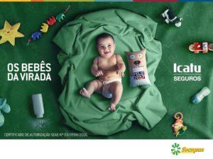 Bebês da virada Icatu Sicredi